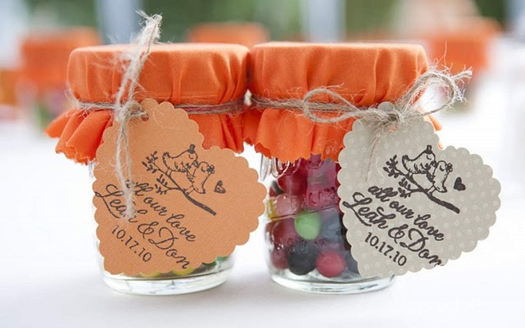 bomboniere matrimonio vasetti interno caramelle