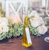 bottiglia di vetro con olio evo etichetta personalizzata regalino matrimonio originale