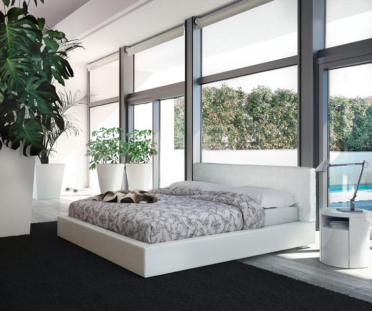 camera da letto mobili bianchi idea design minimal