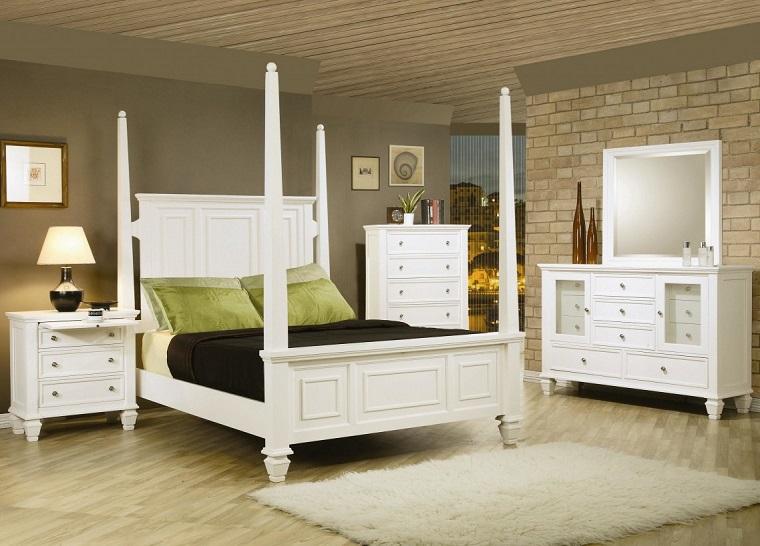 Camera da letto bianca proposte da sogno dalle tonalit for Mobili per stanza da letto