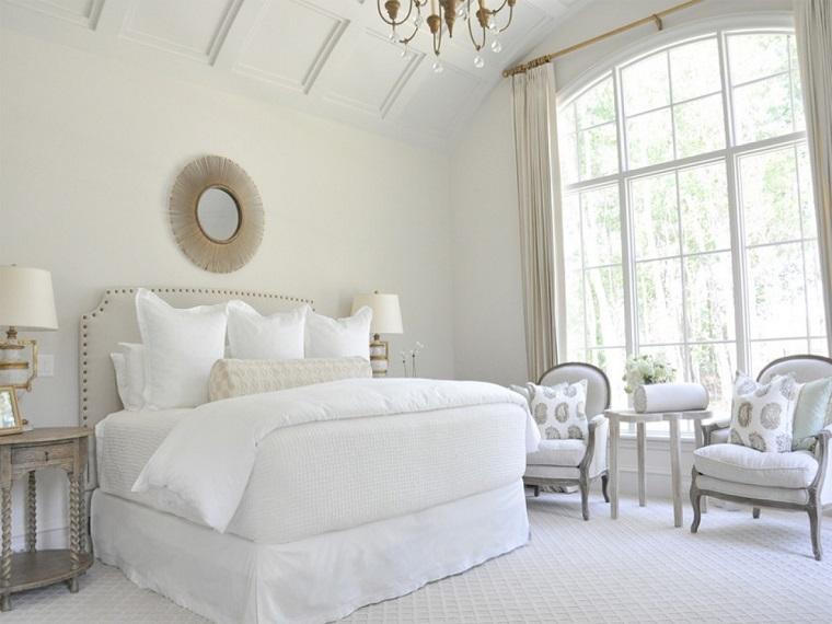 camera letto arredata stile shabby chic