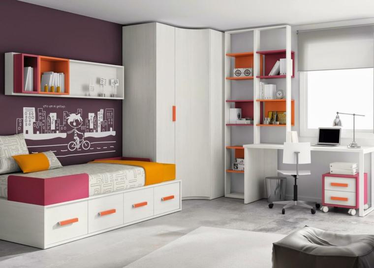 Camere da letto bianche 40 idee per la stanza dei vostri for Camere da letto bianche