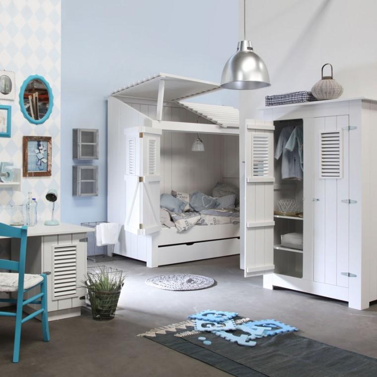 Camere da letto bianche 40 idee per la stanza dei vostri - Camere da letto ragazzo ...