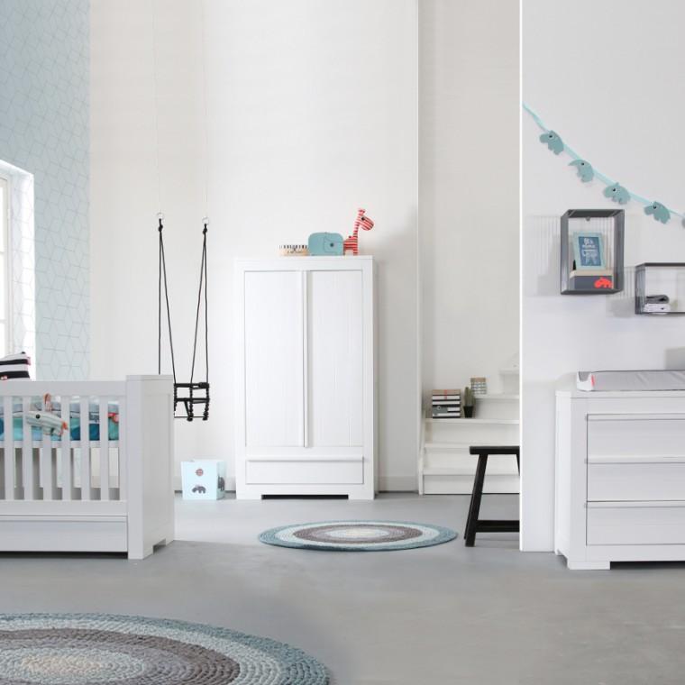 Camere da letto bianche 40 idee per la stanza dei vostri - Camere da letto moderne bianche ...