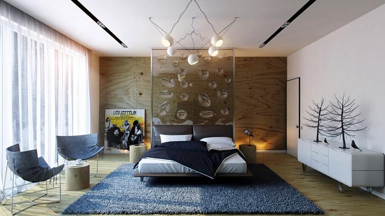 camere da letto moderne decorazioni originali