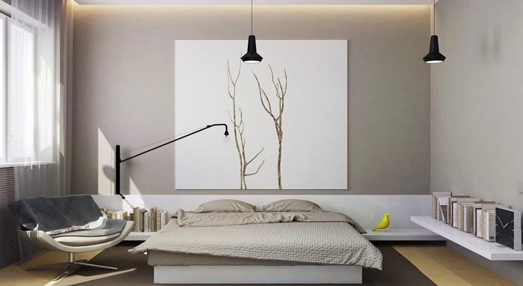 camere da letto moderne design ispirato natura
