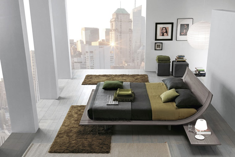 camere da letto moderne design particolare
