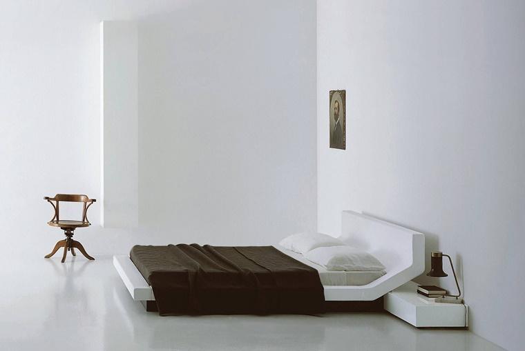 camere da letto moderne stile design minimal