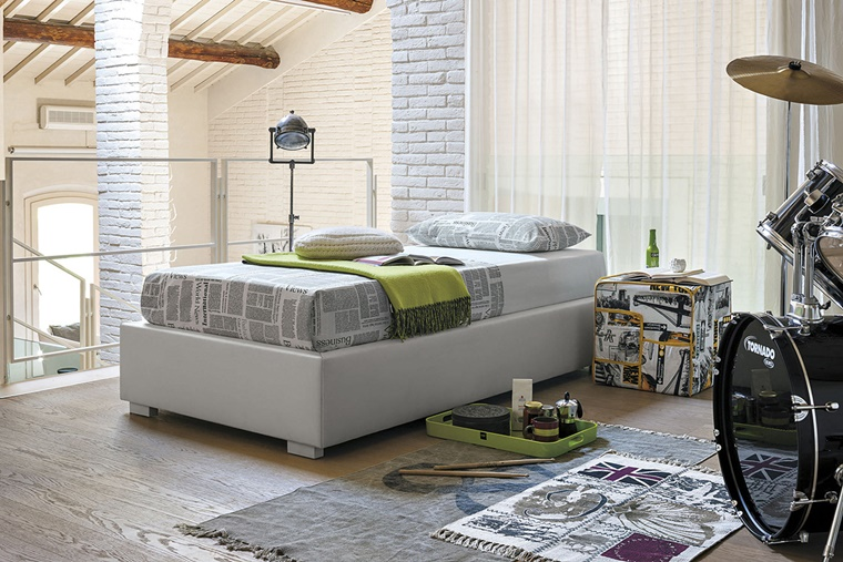 camere da letto moderne stile maschile british