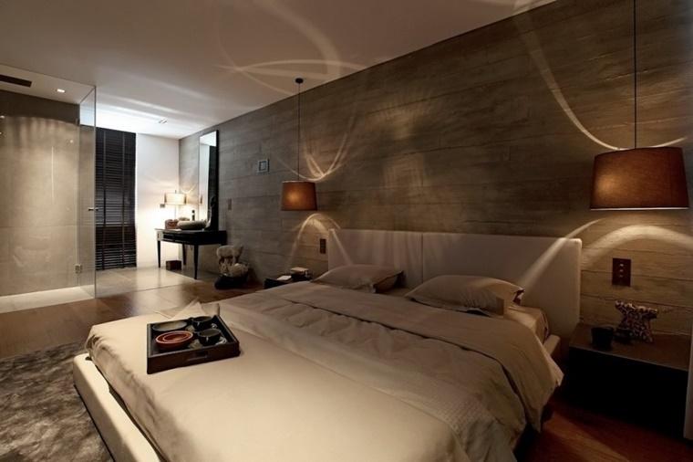 camere da letto moderne stile maschile