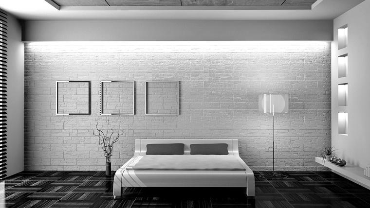 Camere da letto moderne consigli e idee arredamento di design - Camera da letto minimal ...
