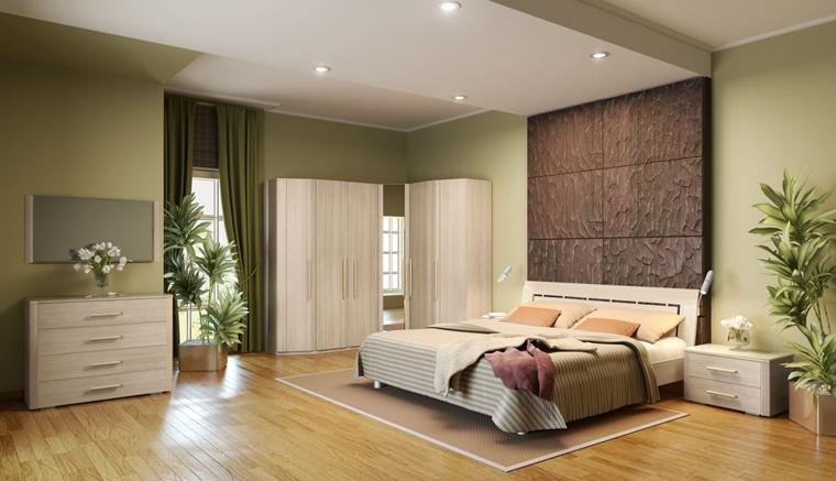camere da letto moderne tonalita calde