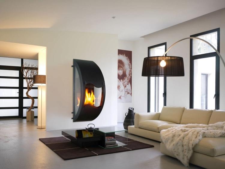 Caminetti Moderni Design : Caminetti moderni nel soggiorno idee che tolgono il respiro