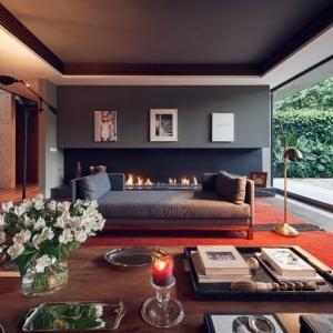 Caminetti moderni nel soggiorno - 18 idee estrose che tolgono il respiro