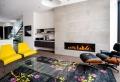 Caminetti moderni nel soggiorno – 18 idee estrose che tolgono il respiro