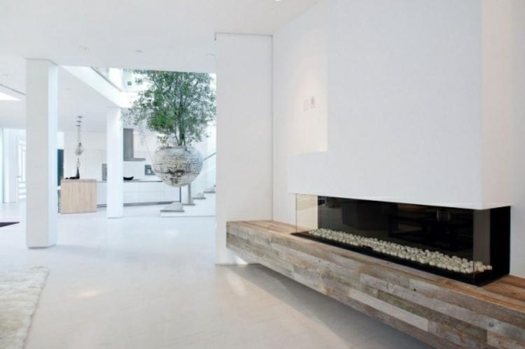 camino casa design originale moderno