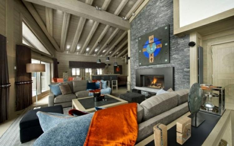 camino casa proposta particolare arredamento soggiorno