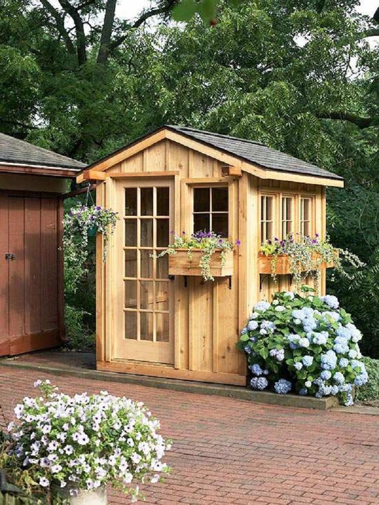 Casette in legno idee da togliere il fiato per il for Idee giardino semplice