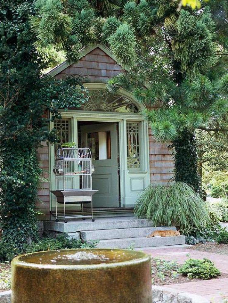 Casette in legno idee da togliere il fiato per il for Idea giardino
