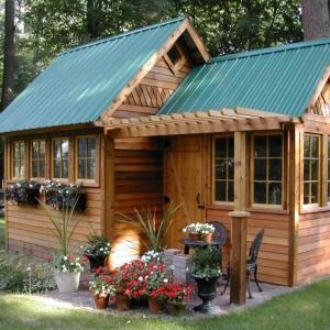 Casette in legno - idee da togliere il fiato per il giardino e non solo