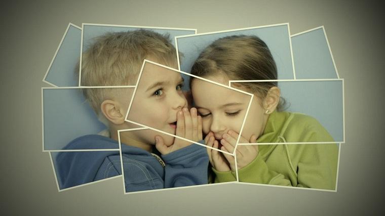 collage foto idea puzzle bambini