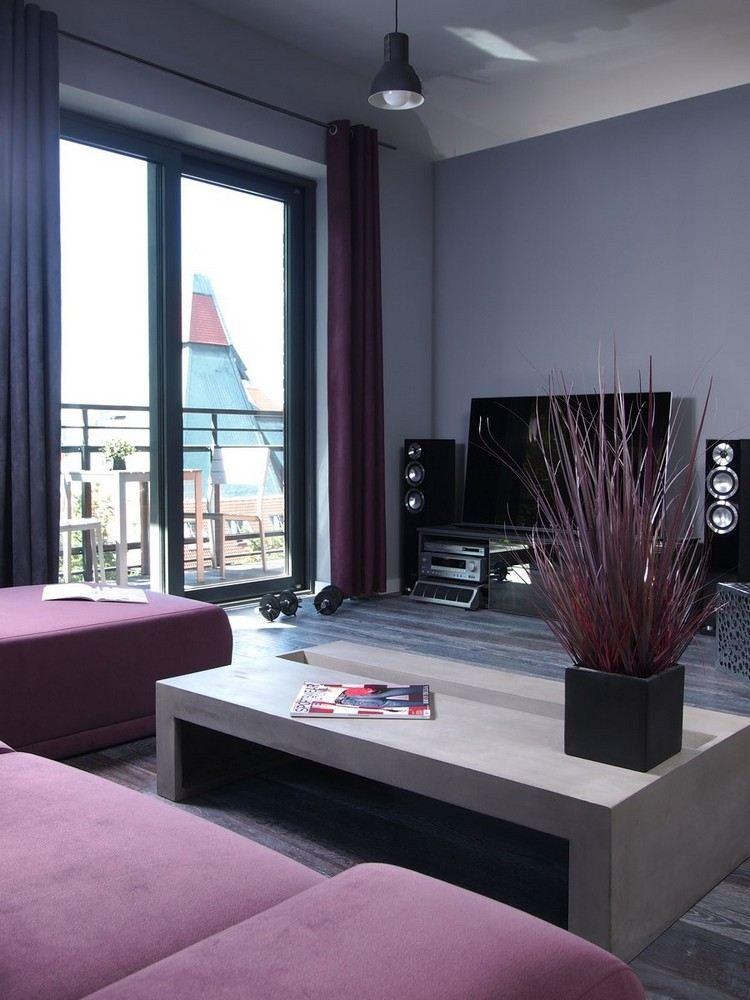 Saloni moderni il gioco delle tonalit calde fredde e for Colori pareti salotto moderno