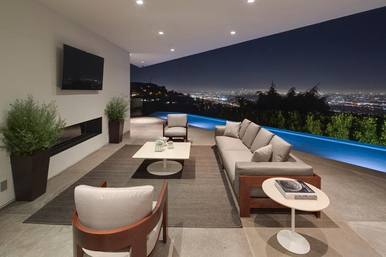 come arredare un terrazzo mobili moderni