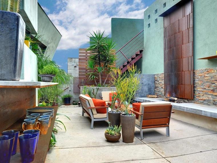 come arredare un terrazzo stile eclettico