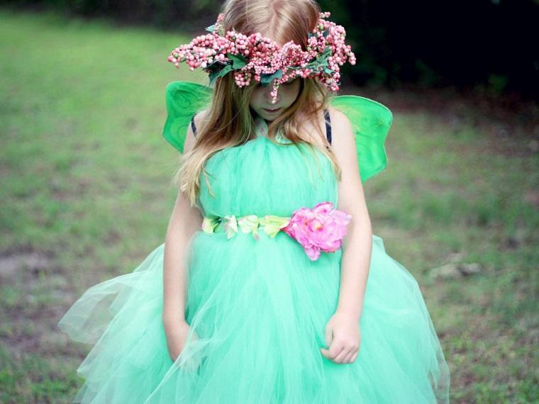 costume di carnevale bambina vestito azzurro