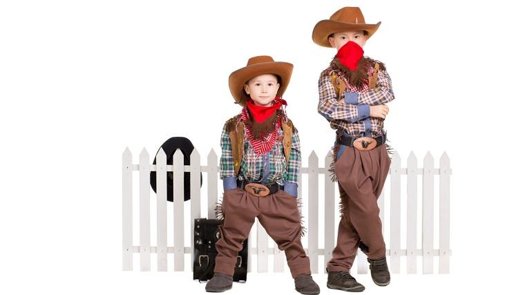 costume di carnevale bambini cowboys
