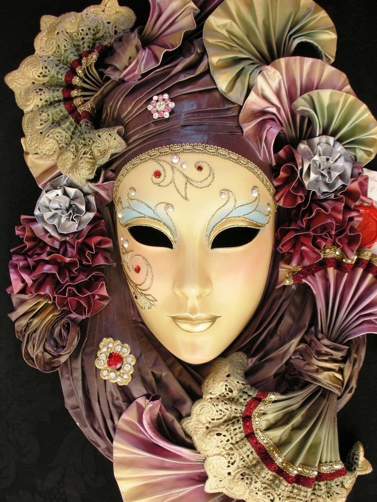 costume di carnevale bellissima maschera