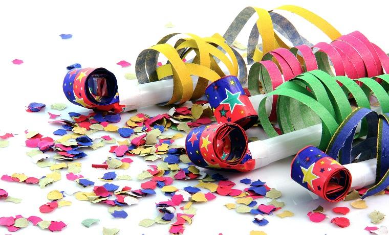 costume di carnevale coriandoli festeggiare
