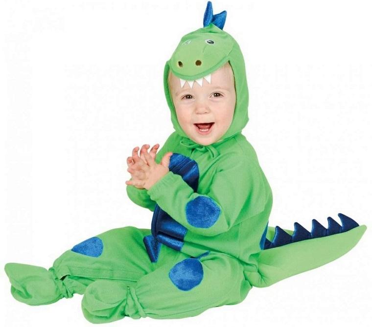 costume per bambini idea piccolo draghetto