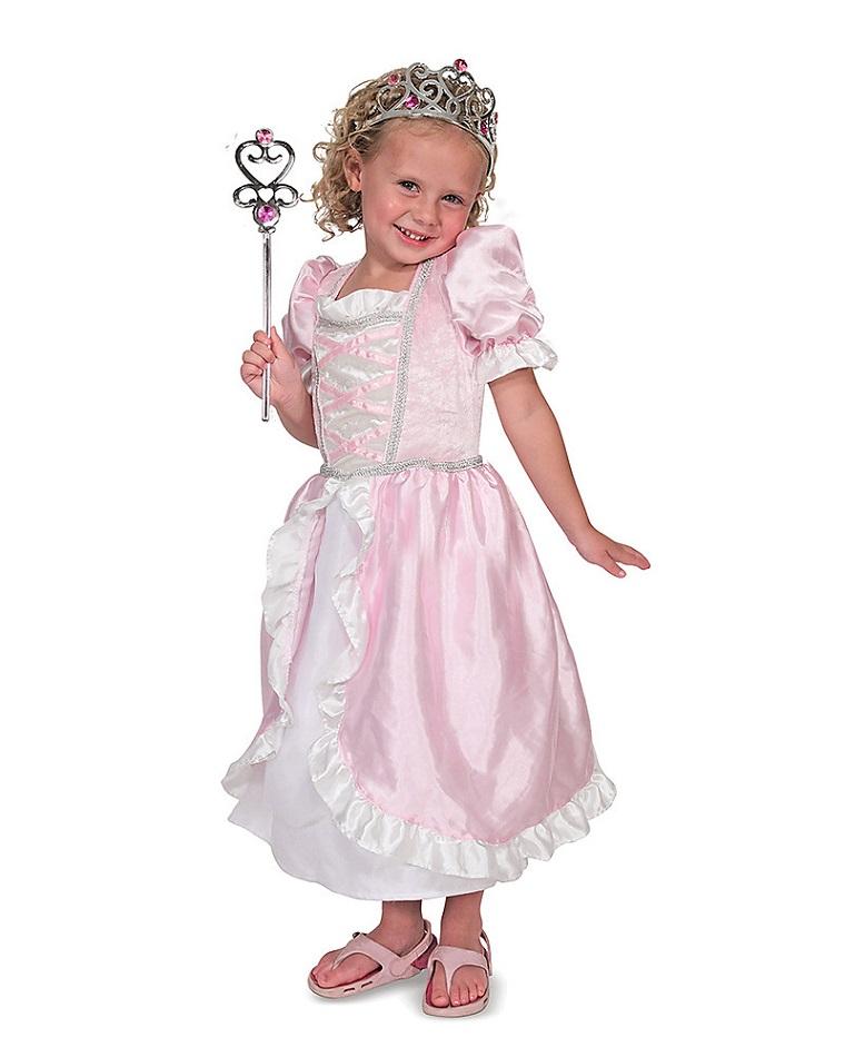 costume principessa colore rosa ideale ogni festa