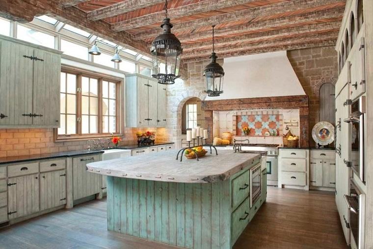 Cucine In Muratura Rustiche Idee Per La Casa In Campagna Archzine It