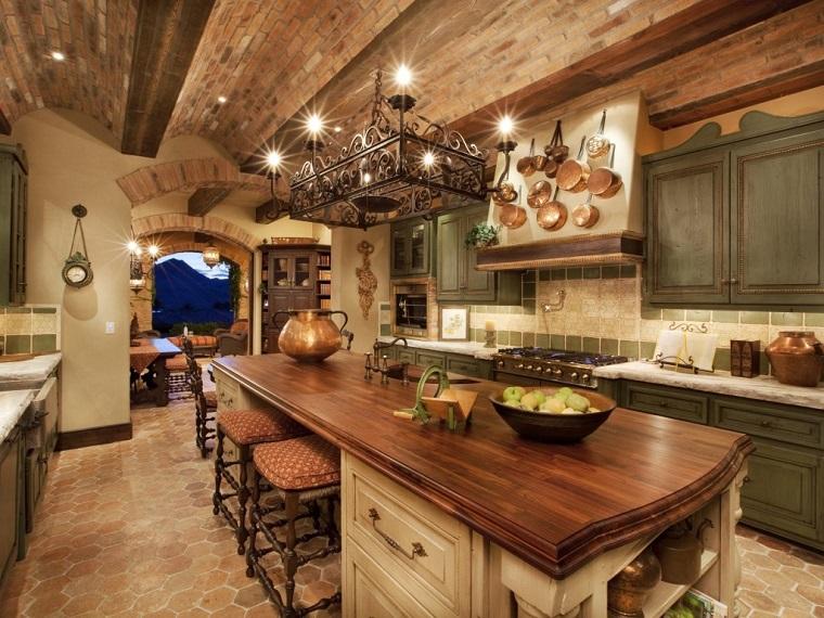 Cucine in muratura tante soluzioni moderne e funzionali - Cucine in muratura con penisola ...