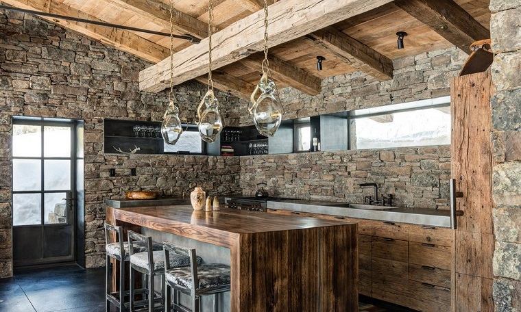 Beautiful Cucine Rustiche Moderne Gallery - Amazing House Design ...