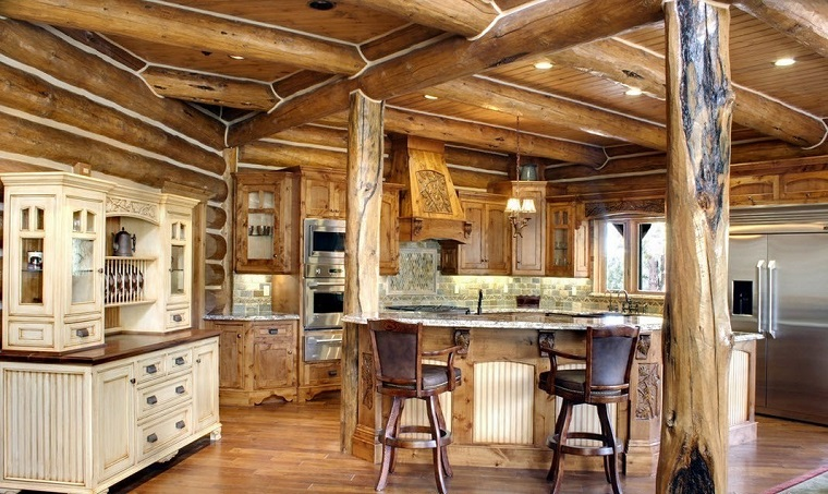 Cucine in muratura rustiche idee per la casa in campagna - Cucine rustiche in muratura e legno ...