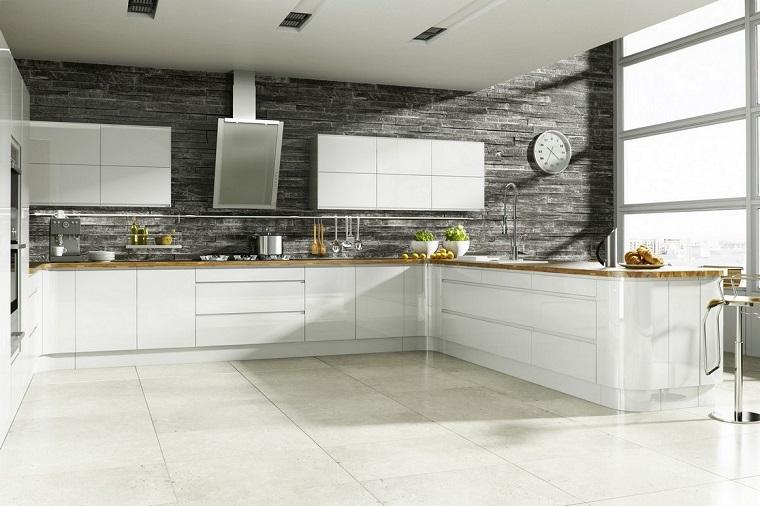 Cucine in muratura: tante soluzioni moderne e funzionali ...