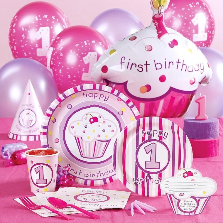 decorazioni compleanno piattini bicchieri palloncini