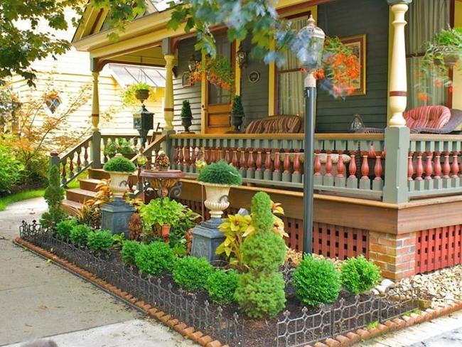giardini moderni realizzati davanti casa