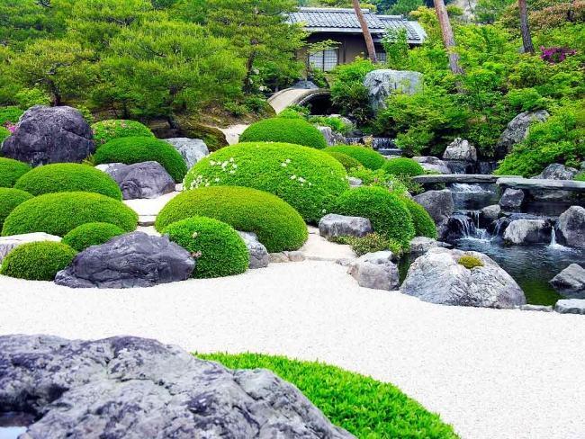 Giardini Moderni Zen : Pietre per giardino zen vipsung spa decor tovaglia sabbia