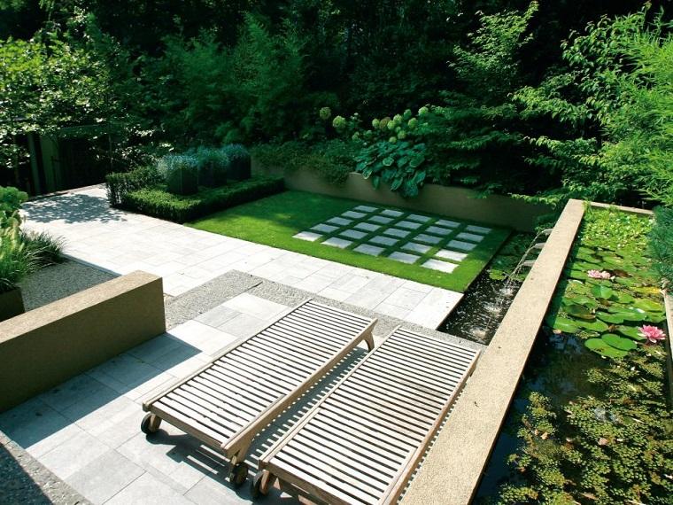 Immagini Di Giardini Moderni : Vialetto giardino proposte interessanti con un look moderno