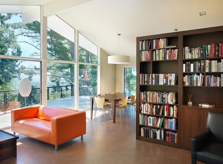 Parete Divisoria Libreria : Come creare libreria sfruttando le nicchie di casa soluzioni di casa