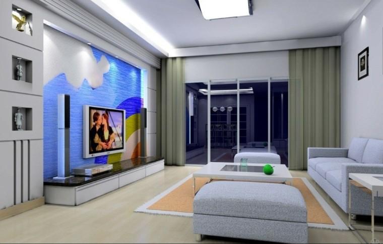 Arredare salotto in stile moderno con idee e suggerimenti for Parete soggiorno minimal