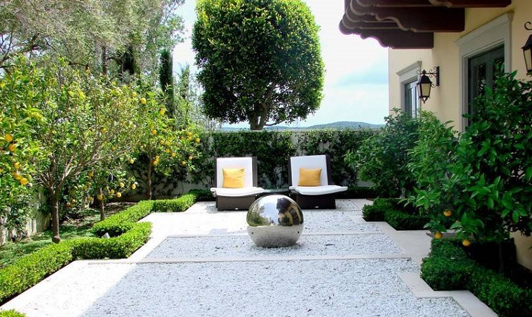 Vialetto giardino proposte interessanti con un look - Giardino moderno design ...