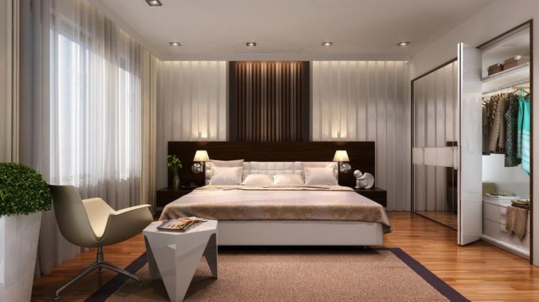 idea moderna camera letto armadio molto funzionale
