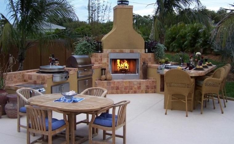 Barbecue in muratura suggerimenti e consigli di tendenza - Barbecue esterno ...
