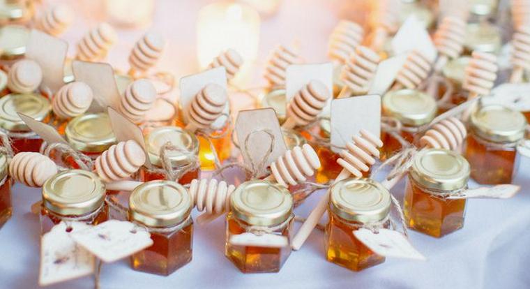idee bomboniere matrimonio vasetti miele