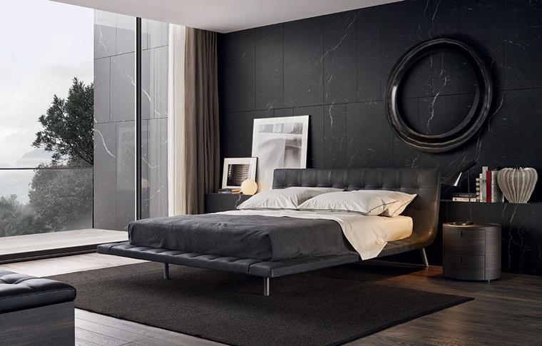 Colore Pareti Camera Da Letto Con Mobili Scuri : Camere da letto moderne consigli e idee arredamento di